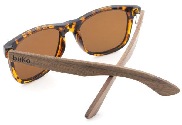 Drift wooden sunglasses back