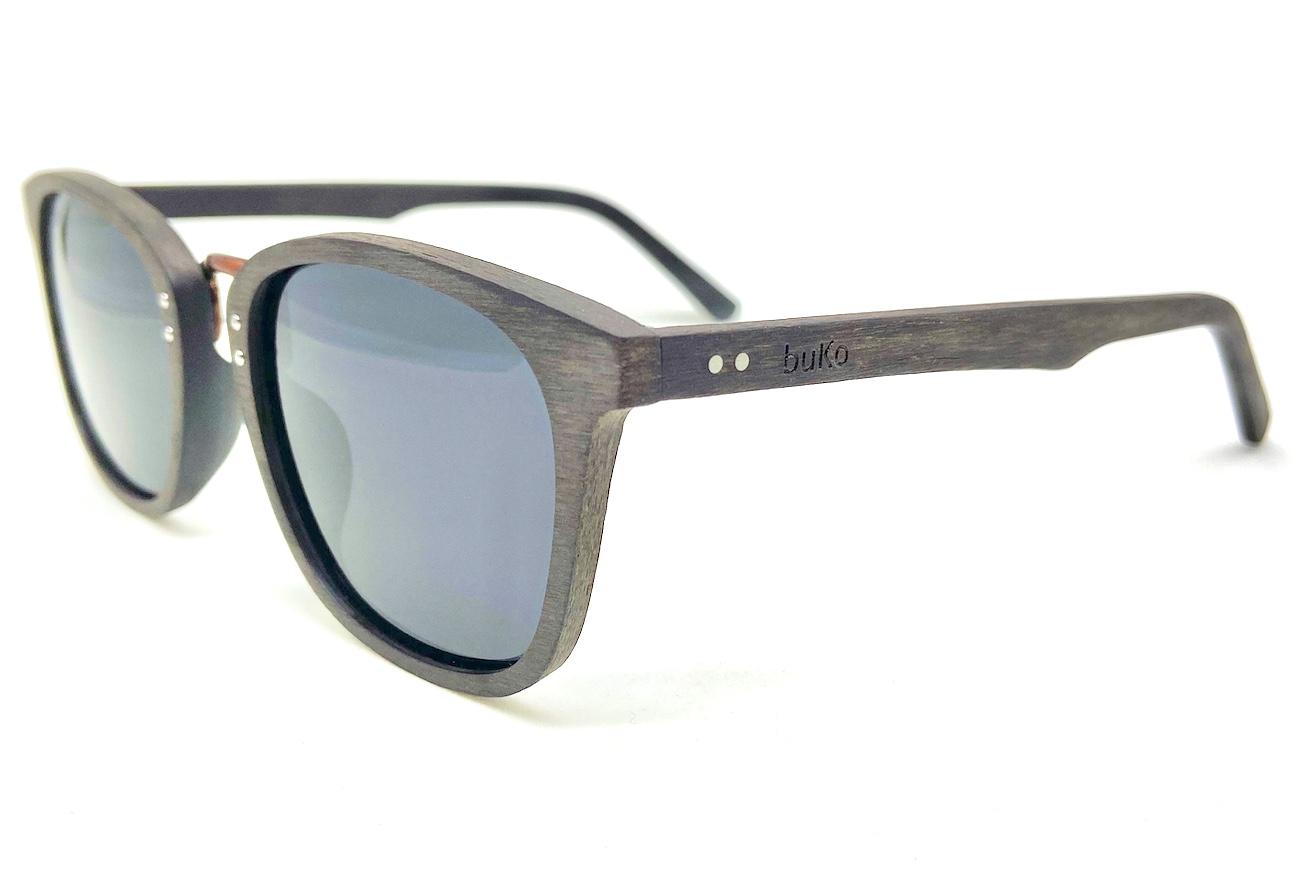 Bondi wooden sunglasses side