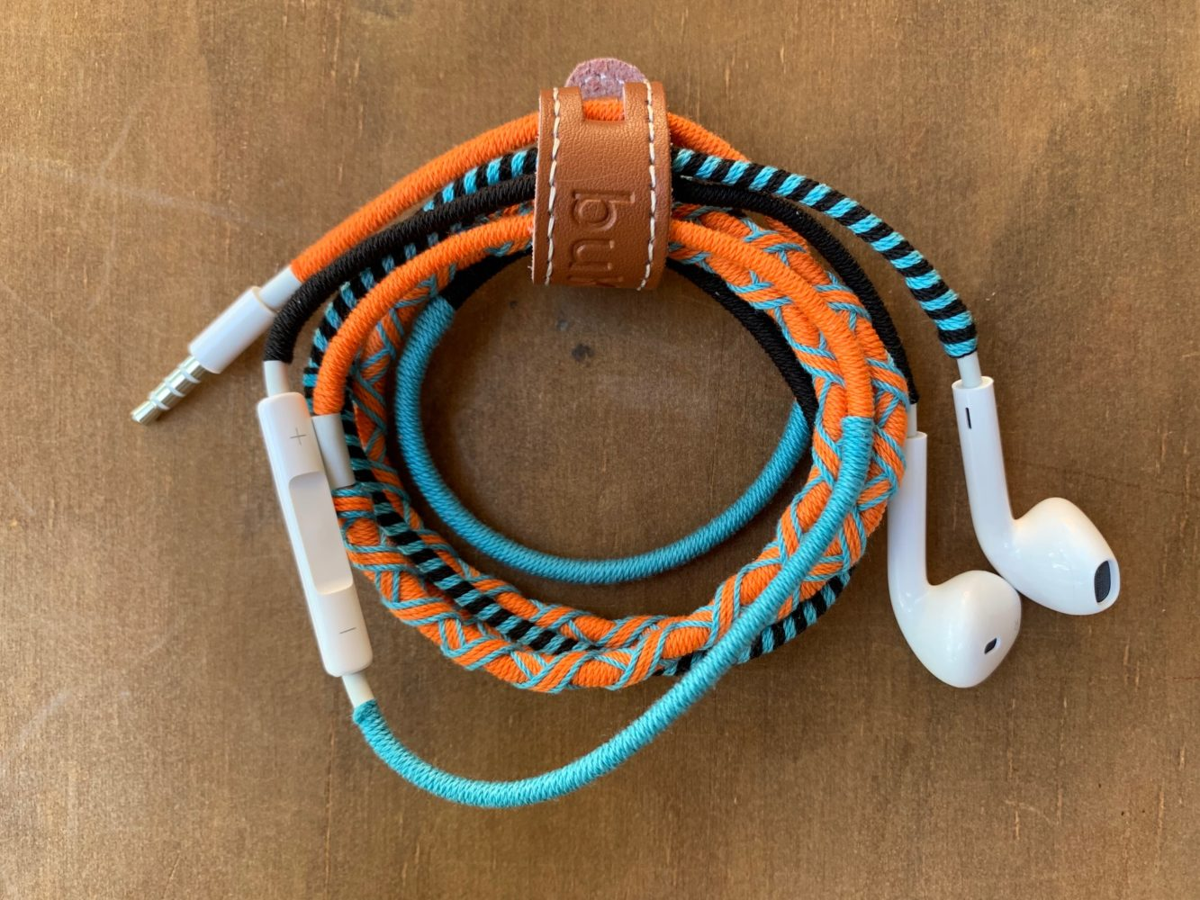'Coral Snake' Wrapped Earphones