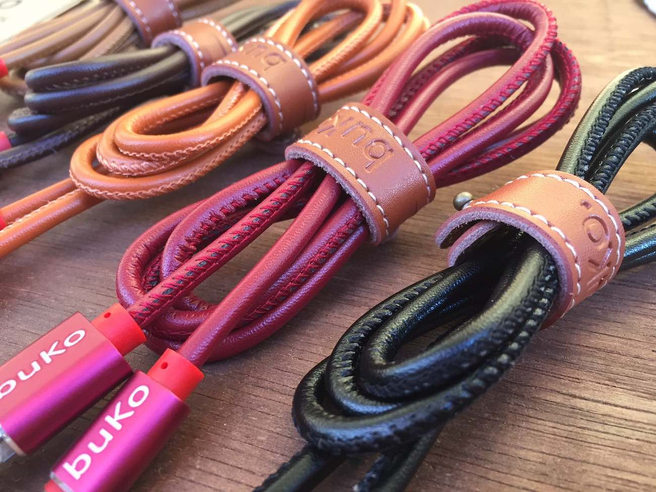 Leather Charger Cables