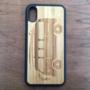 VW Combi Wooden iPhone X Case