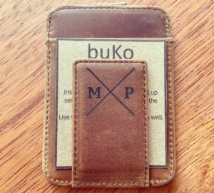 Personalise wallet with moneyclip
