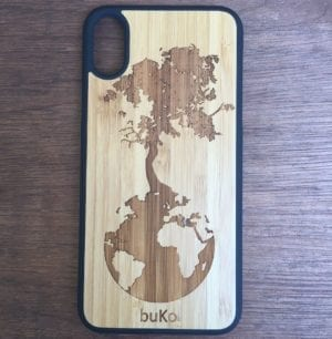 Down to Earth Tree Wooden iPhone X Case