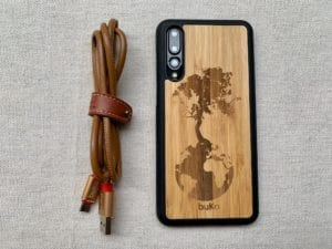 Wooden Huawei P20 & P20 Pro Cases with Earth Tree