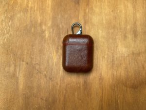 Brown Leather Airpod Cases
