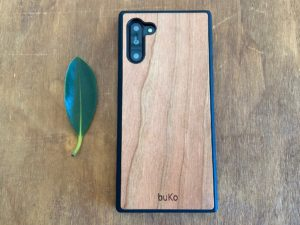 Wooden Galaxy Note 10 Case