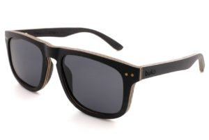 Ranger Black Wooden Sunglasses side