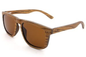Ranger Oak Wooden Sunglasses side
