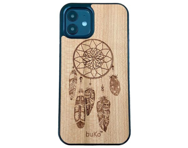 iPhone 12 pro case with dreamcatcher engraving